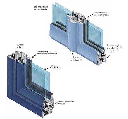 Frappes fabricant menuiserie aluminium pvc annecy for Fabricant menuiserie aluminium