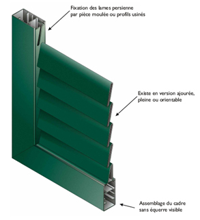 Volets fabricant menuiserie aluminium pvc annecy for Fabricant menuiserie aluminium